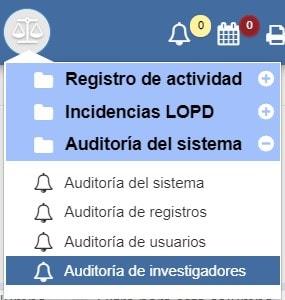 Auditoría de investigadores Archivos Albalá