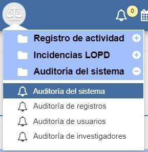 Auditoría del sistema Archivos Albalá