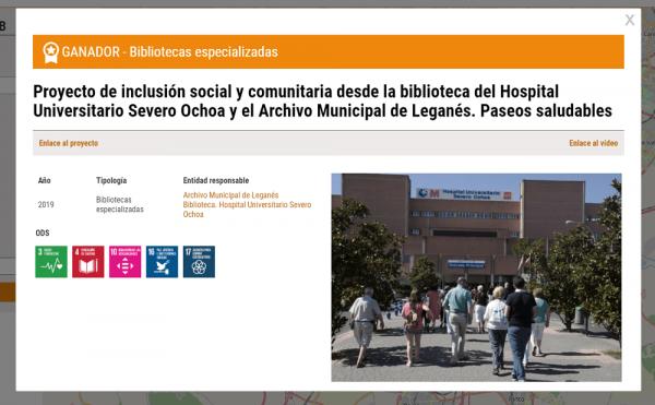 Ficha proyecto ganador bibliotecas especializadas 2019
