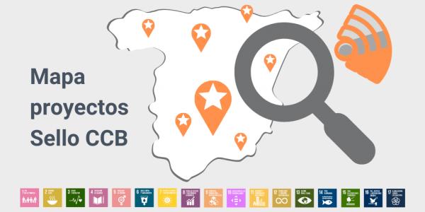 Mapa proyectos Sello CCB