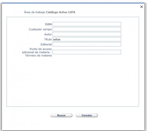 Catálogo activo CATA AbsysNet