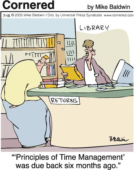Problemas con la devolución de libros prestados
