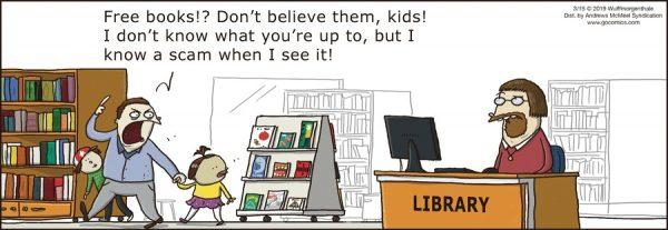 Qué estará tramando la biblioteca 2