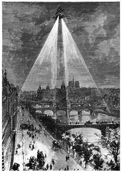 Ilustración Jules Verne - Robur el conquistador