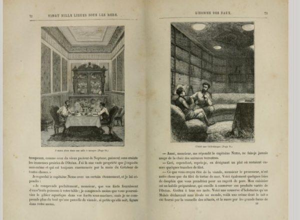 Libro dominio público Jules Verne
