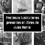 50 preciosas ilustraciones en dominio público presentes en libros de Jules Verne
