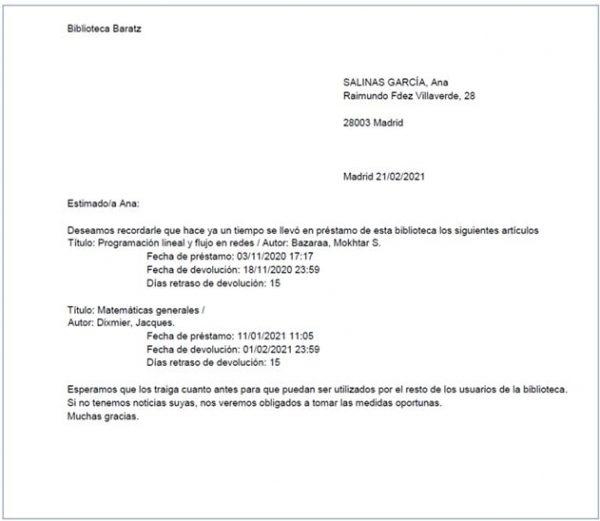 Ejemplo carta AbsysNet