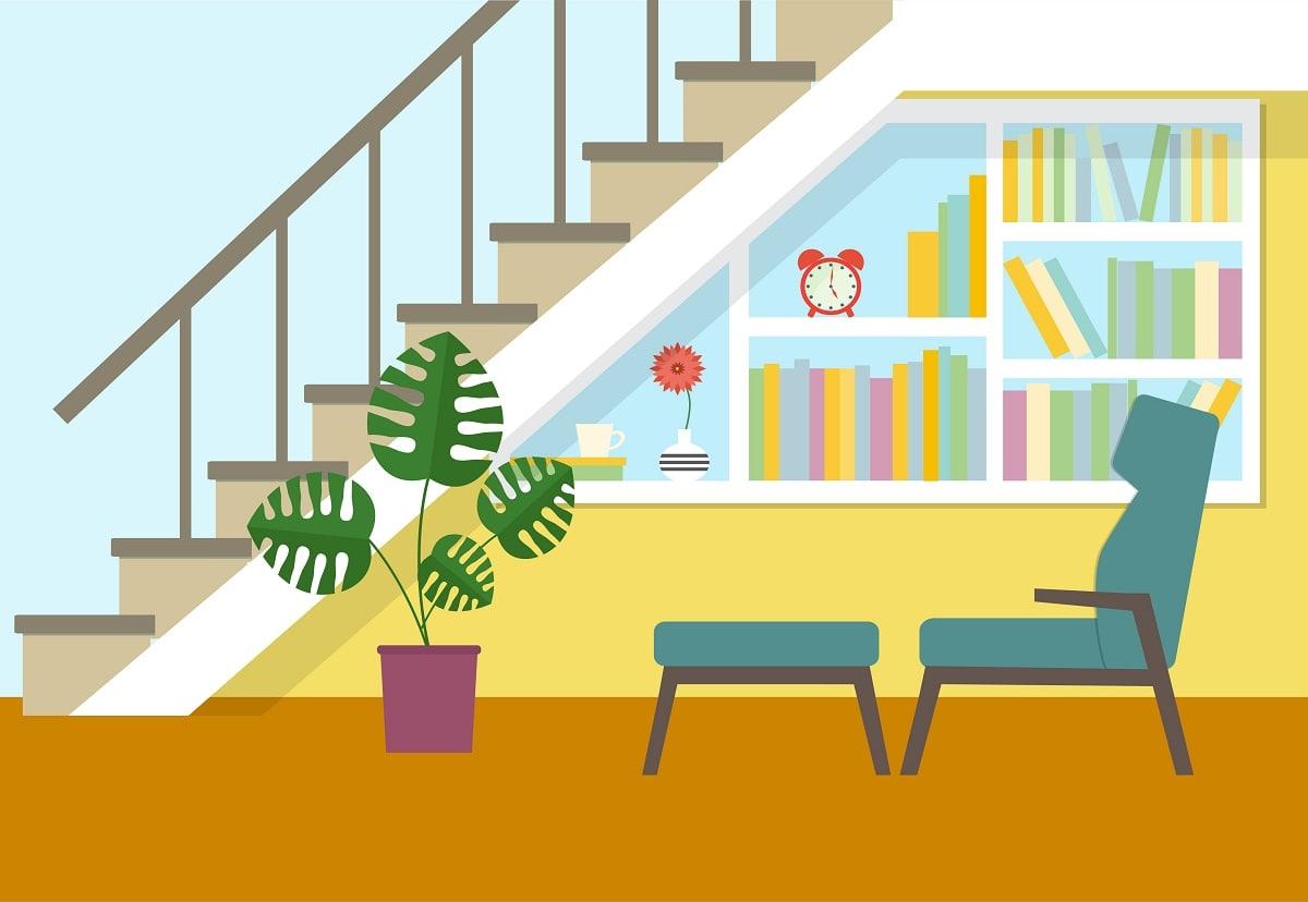 Los libros ocupan un espacio importante en la vida de las personas, pero también en sus casas