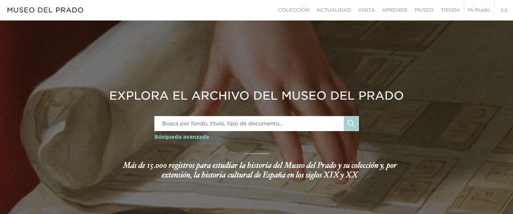 Archivo digital MediaSearch del Museo del Prado