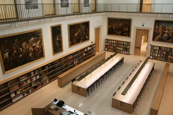 Interior Biblioteca Museo del Prado