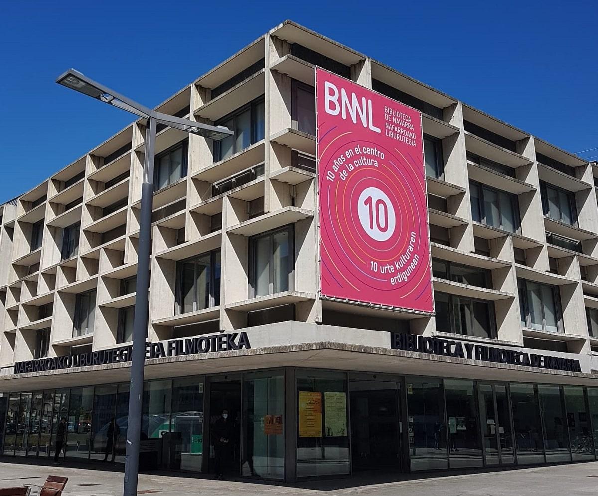 Edificio de la Biblioteca de Navarra