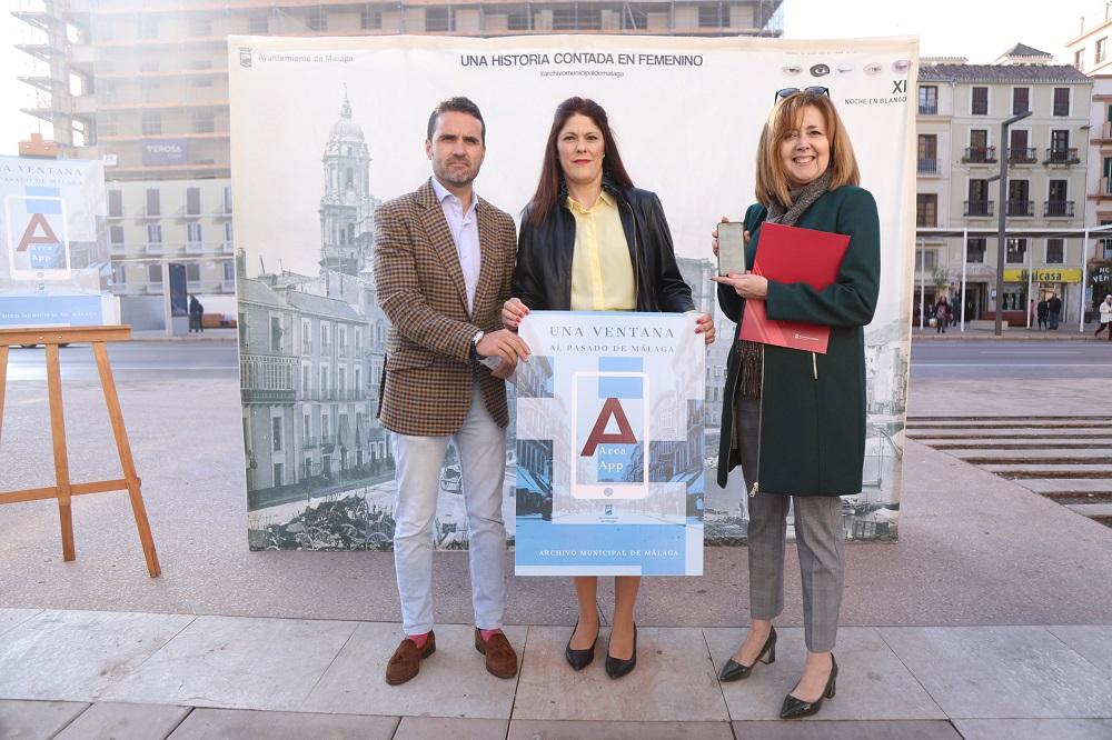 App ARCA El Archivo Málaga sale a la calle
