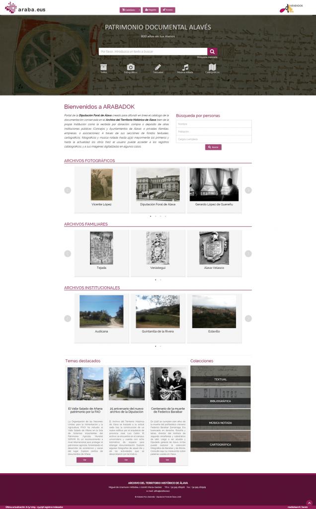 Arabadok Archivo del Territorio Histórico de Álava
