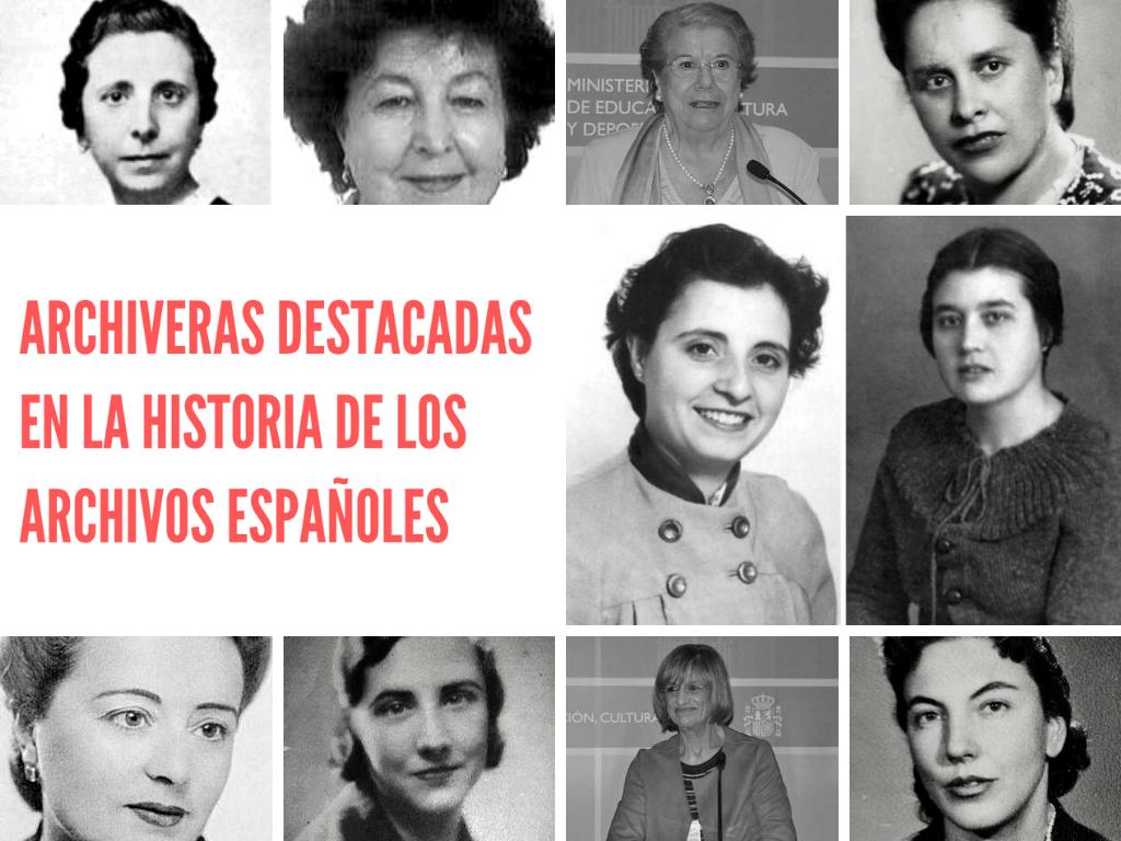 Archiveras destacadas en la historia de los Archivos españoles