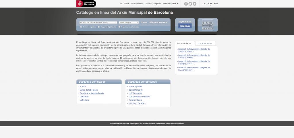 Archivo Municipal de Barcelona