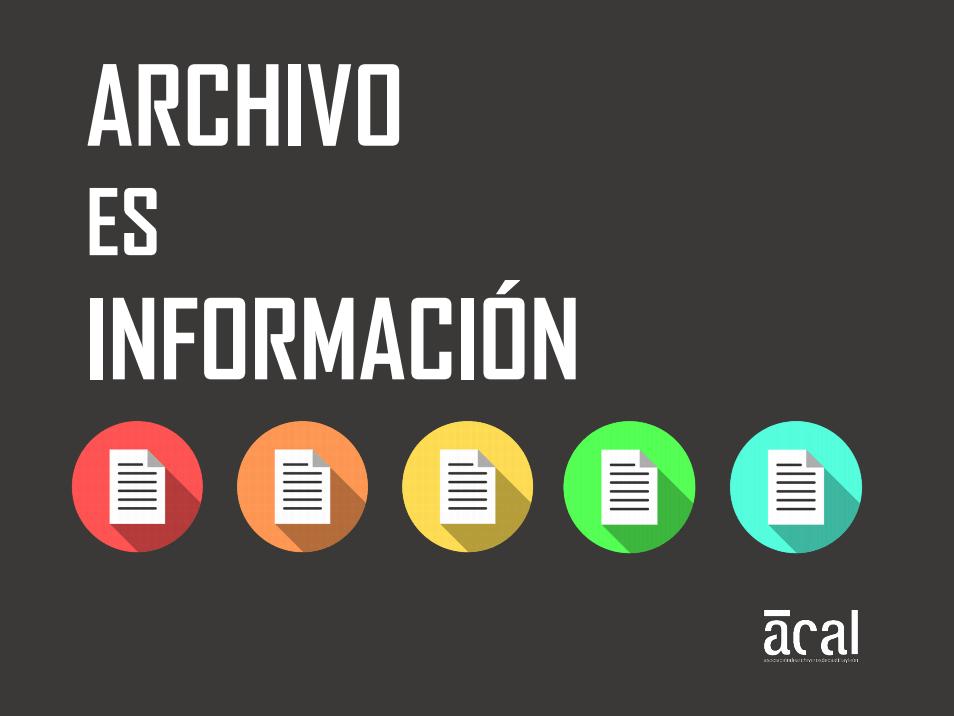 Archivo es información