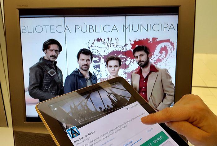 Archivo y Biblioteca de Burgos camino de la conversación social televisiva