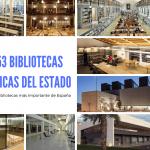 Conoce las funciones y cuáles son las 53 Bibliotecas Públicas del Estado que hay en España