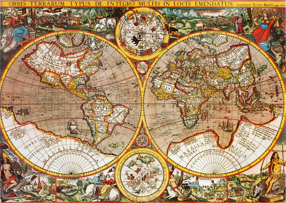Bibliotecas y archivos han hecho un gran trabajo en la digitalización de material cartográfico