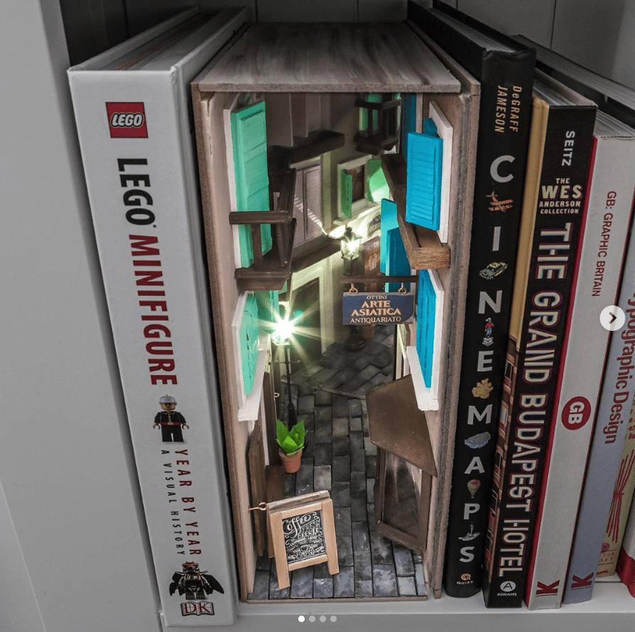 Booknook inspiración veneciana - Instagram