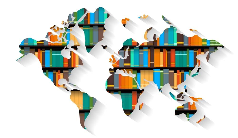 Cada país tiene un libro que le representa internacionalmente