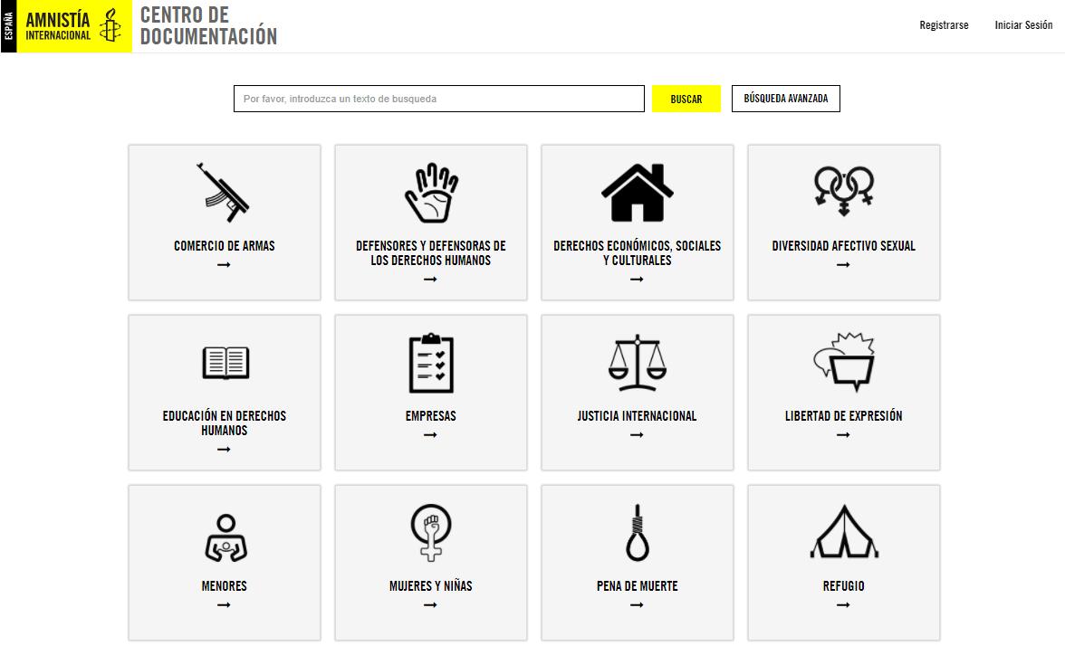 Centro de Documentación de Amnistía Internacional España
