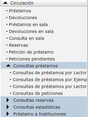 Consultas de peticiones AbsysNet