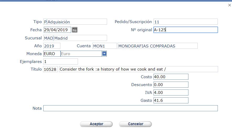 Crear nuevas facturas en AbsysNet 2