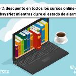 Rebajamos todos los cursos online de AbsysNet mientras dure el estado de alarma