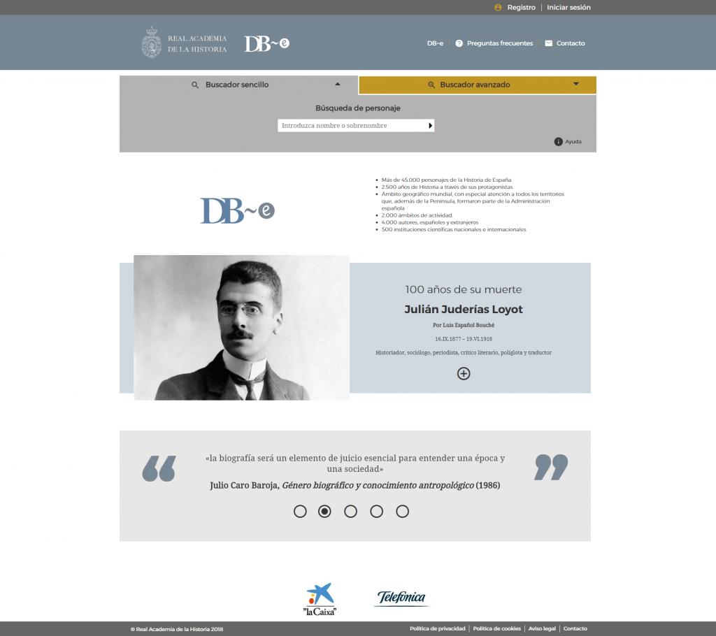Diccionario Biográfico Español