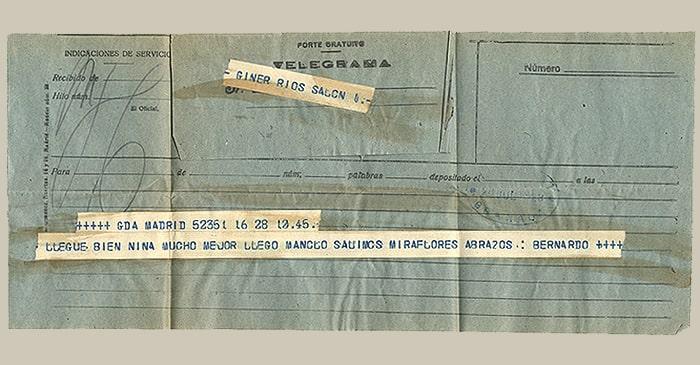 Encontrados en libros - Telegrama