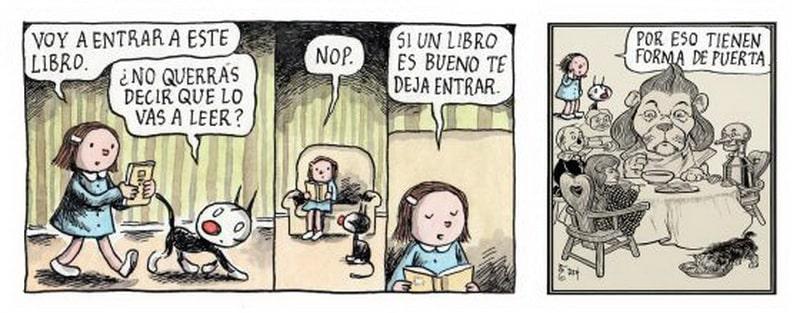 Entrar dentro de los libros