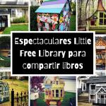 20 espectaculares «Little Free Library» que te encantará contemplar, disfrutar y visitar