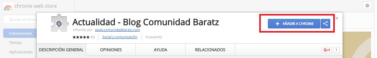 Extensión Comunidad Baratz 2