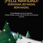 Feliz Navidad y Próspero Año Nuevo desde Baratz