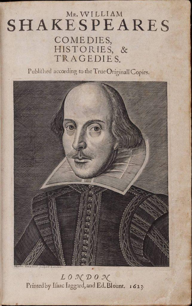 First Folio de William Shakespeare