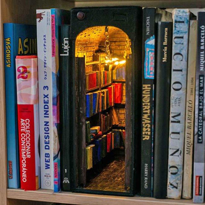 Habitación con libros - Alby Martin