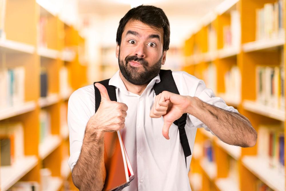 Ir o no ir a la biblioteca depende de cada persona