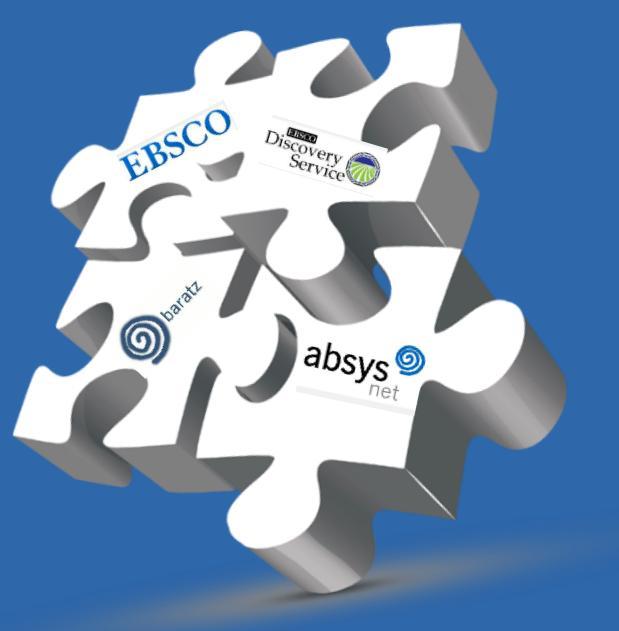 La integración AbsysNet EBSCO