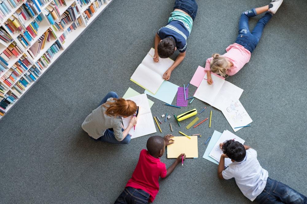 Las bibliotecas escolares son espacios donde entretenimiento y conocimiento se contagian