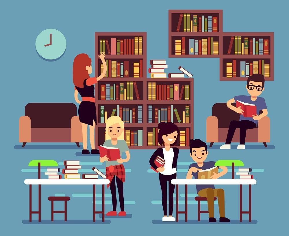 Las bibliotecas españolas van camino del sobresaliente