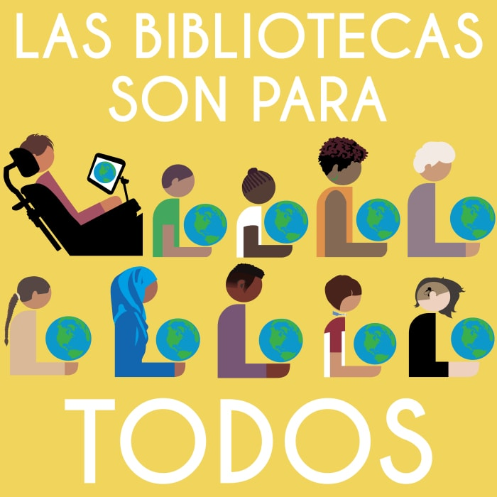 Las bibliotecas son para todos