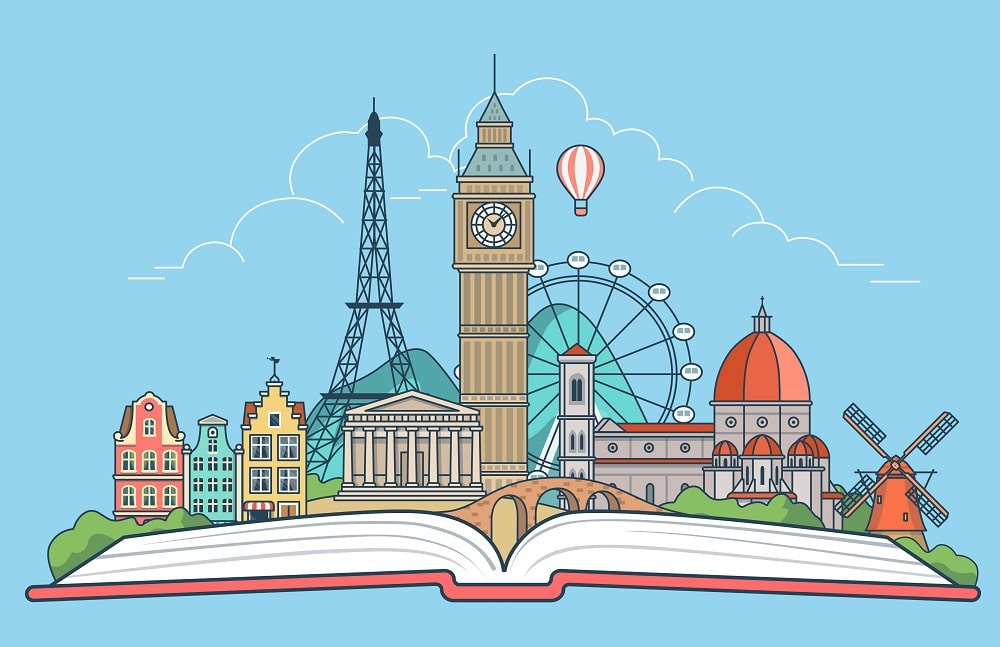 Libros infantiles y escritores representan a Europa