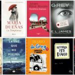 Los 10 libros más vendidos en España en el 2015… ¿aún sin saber cuáles fueron?