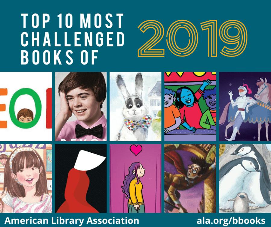 Los 10 libros más censurados en las bibliotecas de EEUU en el año 2019