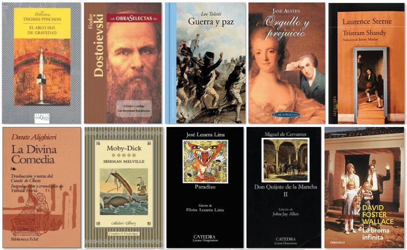 Los 10 libros que más se resisten a ser acabados por los lectores
