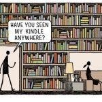 16 viñetas de Tom Gauld sobre libros, lectura y bibliotecas