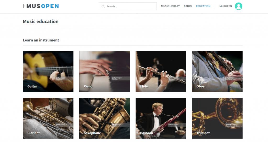 Musopen - educación musical