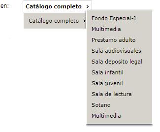 Opac de la Biblioteca Pública de Melilla