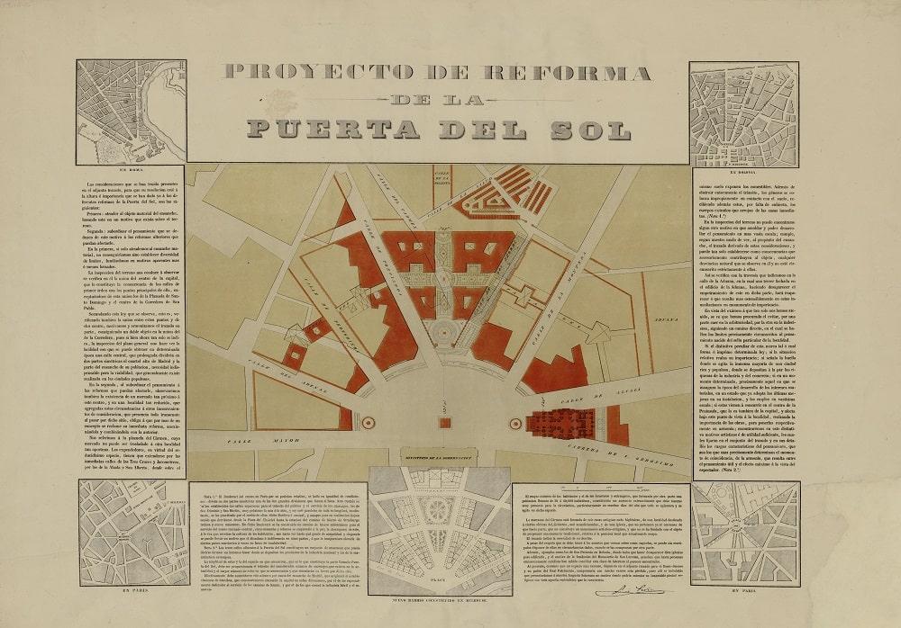 Proyecto de reforma de la Puerta del Sol